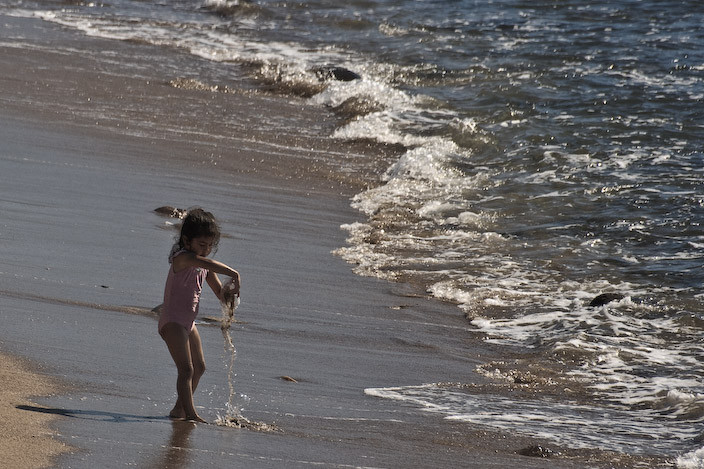In the shore