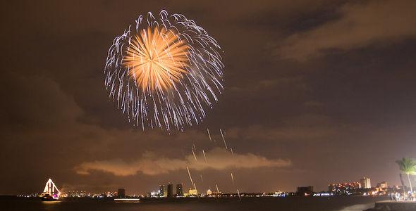 Malecon Fireworks