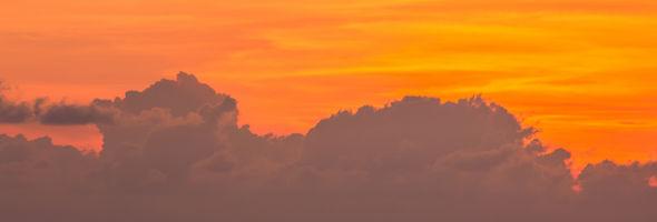 The yellow sky