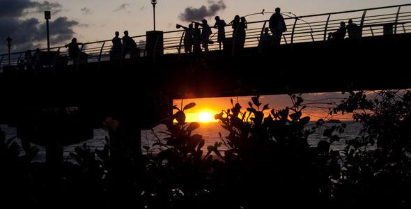 Briged Sunset