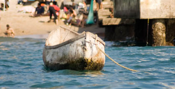 La vieja canoa