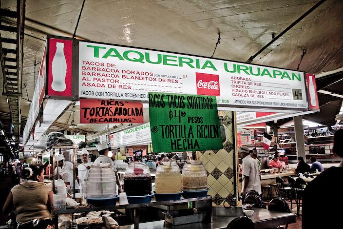 Tacos a 4.50