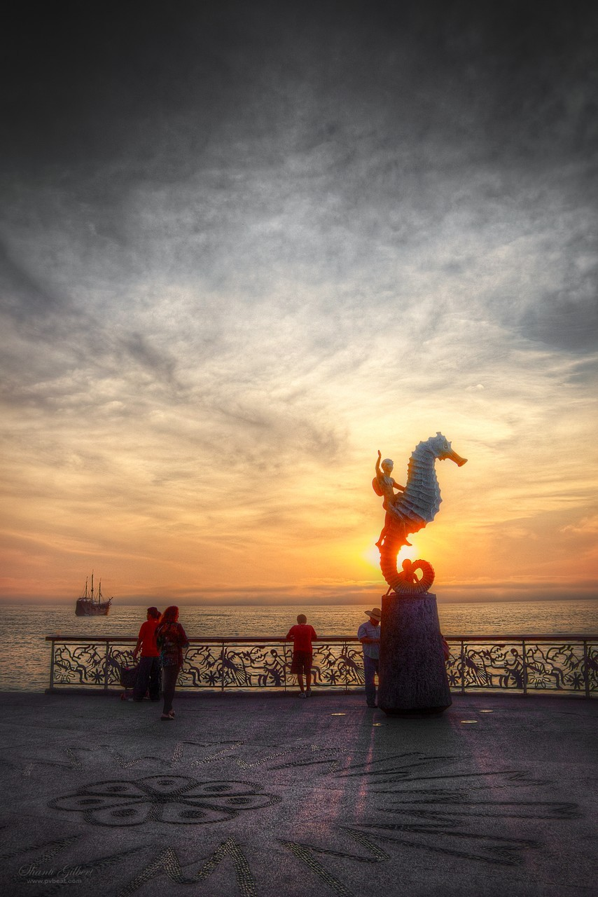 Malecon Seahorse Sunset