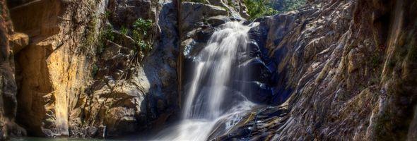 Cascada en Quimixto