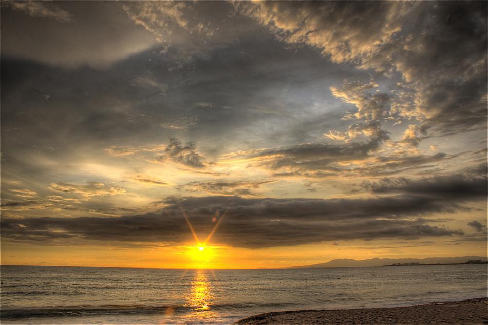Tone-Mapped Puerto Vallarta Sunset