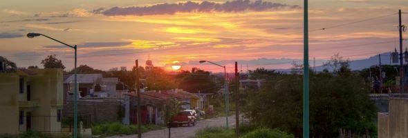 Sunset desde Lomas del Coapinole