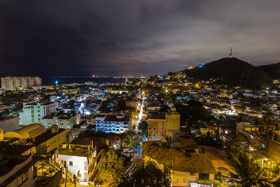 Puerto Vallarta View at night