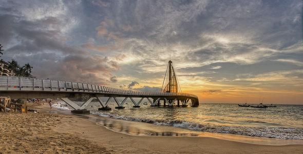 Puerto Vallarta's new pier