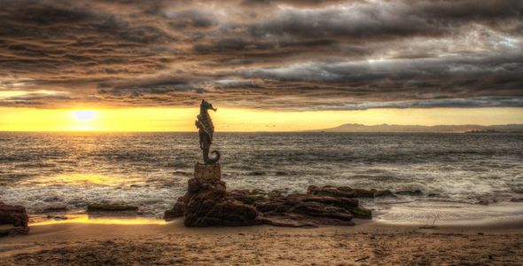 Seahorse HDR Sunset